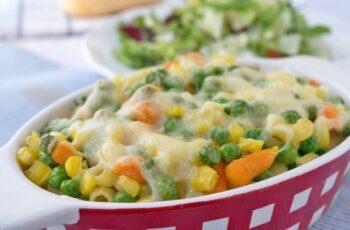 Überbackene Gemüse-Nudeln Rezept
