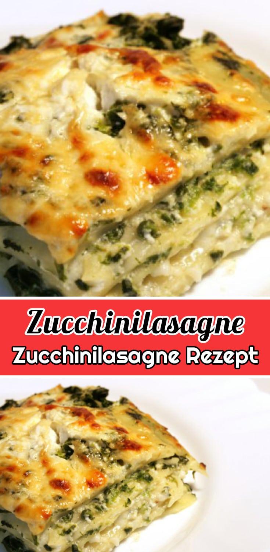 Zucchinilasagne Rezept