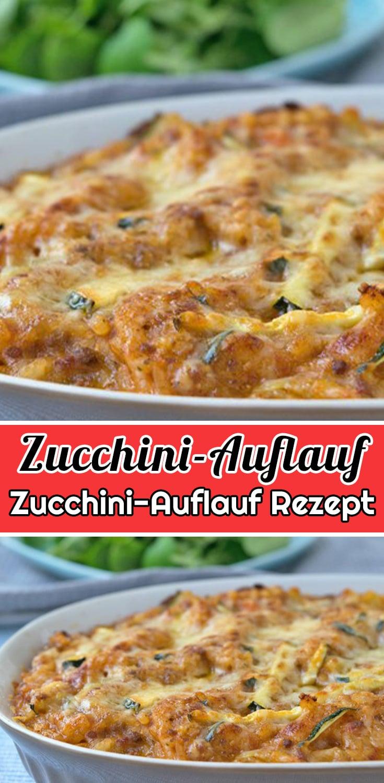 Einfacher Zucchini-Auflauf Rezept