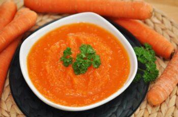 Feine Karottencremesuppe Rezept