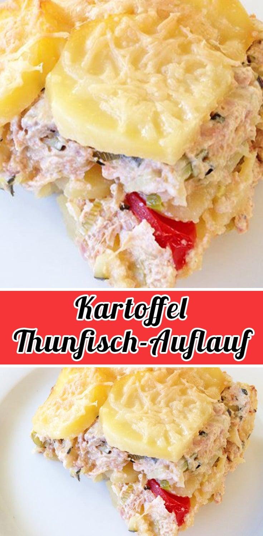 Kartoffel-Thunfisch-Auflauf Rezept