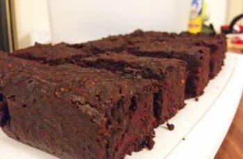 Rote-Rüben Schoko Brownies Paleo Rezept