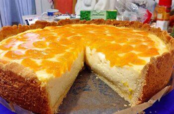 Schmand Pudding Mandarinen Torte Rezept