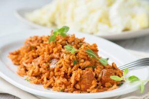 Einfacher Reisfleisch Rezept