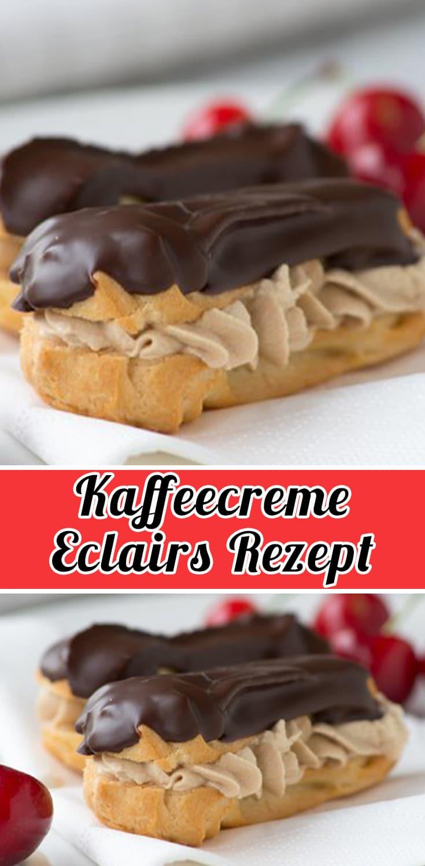 kaffeecreme eclairs rezept schnelle und einfache eclairs