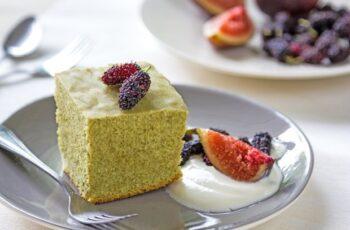 Matcha-Kuchen Rezept