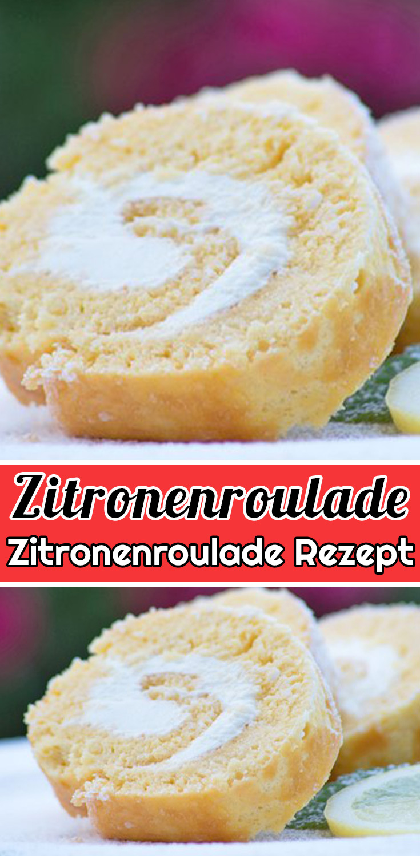 Zitronenroulade Rezept